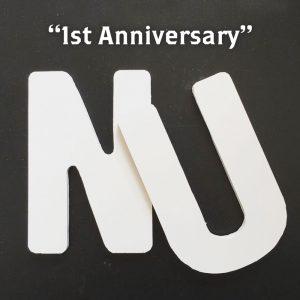 NU 1周年